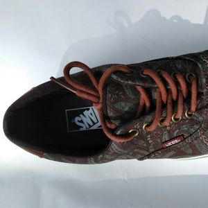 f70249e139 Vans Shoes - Vans Era 59 Paisley Camo Brown Men 9.5 Women 11